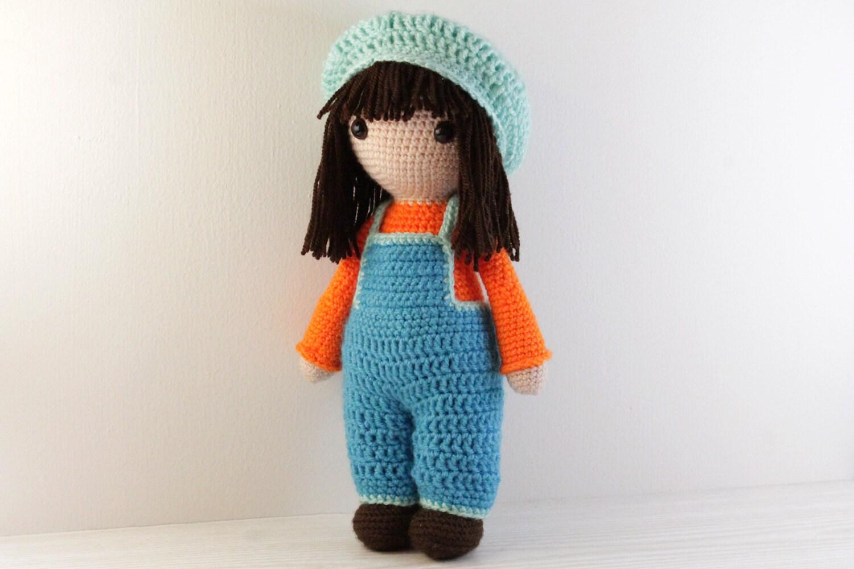 Stitch Amigurumi Doll Pattern : PATTERN : Doll Crochet pattern Amigurumi Doll pattern