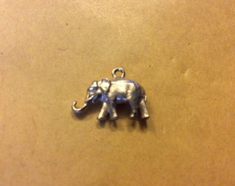 A Elephant Charm in Silver in a Very Good Condition