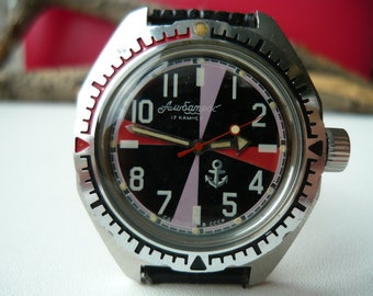Vintage Wostok wrist watch Albatros RR operator / men's Watch Vostok / Mechanical / USSR / Soviet Union / RR / Total cost see in your cart!