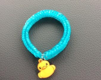 Rubber Duckie Charm Bracelet