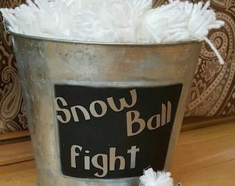 indoor snowball fight, Christmas, indoor snow, Christmas gift, welcome elf indoor snowball fight