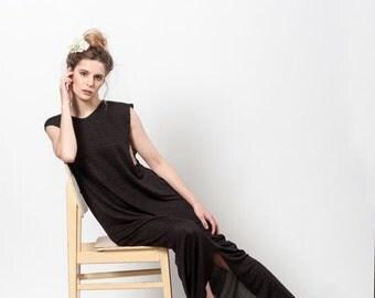 SALE 25% OFF Black Dress Long, Sleeveless Maxi Dress, Day Dress, Maxi Dress Summer