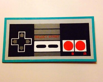 Nes Controller Canvas