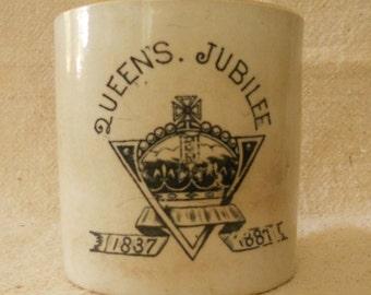 Queen's Jubilee 1837-1887 mug