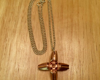 Lehigh Defense Bullet Necklace - Solid Copper Maximum Expansion Bullets - Very Unique And Beautiful