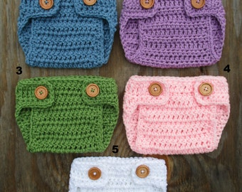 Crochet Diaper Cover Knitted Diaper Cover Photo Prop Cover Newborn Diaper Cover Baby Diaper Cover Boy Girl Diaper Cover Baby Shower Gift