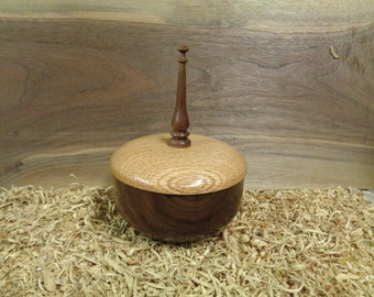 Walnut vessel #W0393