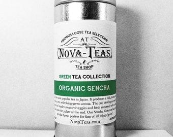 Sencha organic Green Tea - loose leaf tea - slimming tea