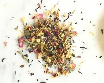 Herbal Facial Steam | Floral Steam | Facial detox | Spa and Relaxation | 100% Natural flowers, herbs, buds