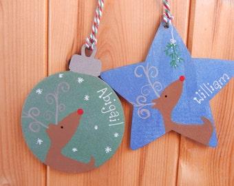 Christmas Tree decoration, Personalised Christmas decoration, Secret Santa, Christmas ornament, Christmas Tree ornament, Personalised
