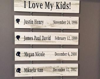 Children List Board