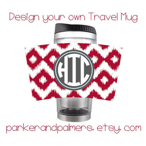 Stainless Steel Coffee Travel Mug Custom Design Your Own