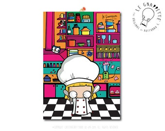 Print Chef Cook