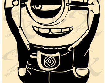 0358_MINIONS_Vector_minions,SVG,DXF, AI, png, eps, jpg,Silhouette,Download files, Digital, graphical