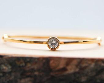 Solid bracelet, Gold bracelet, Friendship bracelet, Love bracelet, Autumn bracelet, Bracelet for her, Gift for her, Trendy bracelet, Gift
