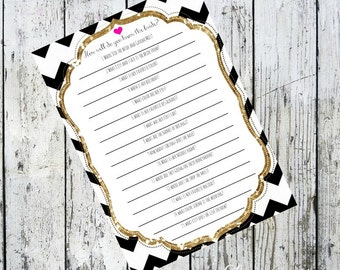 Inspired by Kate Spade How Well do you know the Bride Bridal Shower Game*Digital Listing*