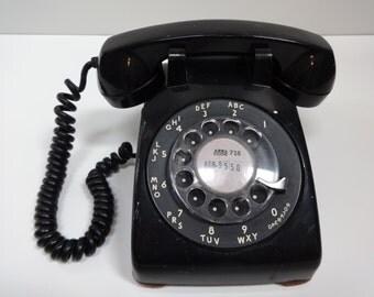 Telephone, Phone, Black Phone, Rotary Telephone, Black Rotary Telephone, Dial Phone, Black Dial Phone, Bell Telephone, Rotary Phone