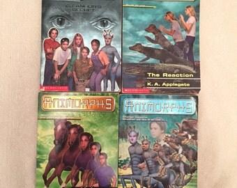 Animorphs Books