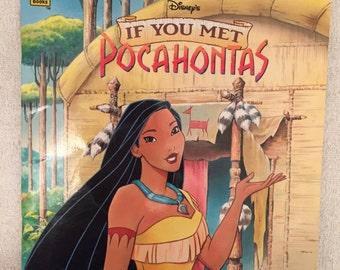 Vintage Disney Pocahontas Story Book