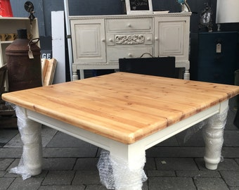 Large Pine Upcycled Coffee Table
