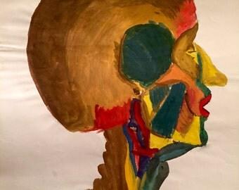 Study of human head
