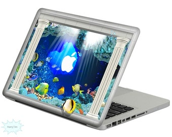 Underwater world Decal Mac Stickers Macbook Decal Macbook Stickers Apple Decal Mac Decal Stickers