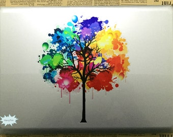 New color tree decals mac stickers Macbook decal macbook stickers apple decal mac decal stickers