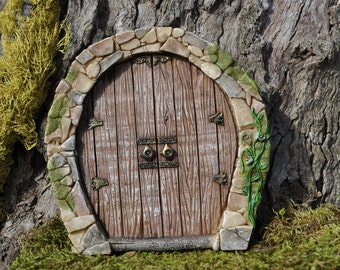 Fairy Door Enchanted Fairy Garden Door+Hobbit+Fariy door+Fariy Garden Supplies+Fairy Garden Miniatures+Fairy Garden Accessories+Gnomes+