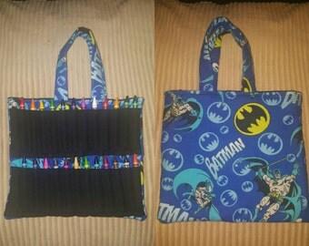 Batman coloring bag