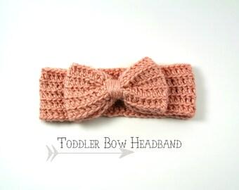 Toddler Bow Headband>>Crochet>>Turban>>TBH001