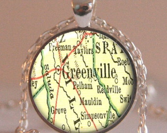 Greenville Art Print Etsy