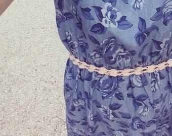 Belt belt color cotton rope