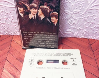 The Beatles Vol. 2 Cassette Tape