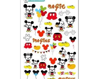Mickey Stickers - Disney Planner Stickers