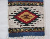 small woven tapetes from Oaxaca