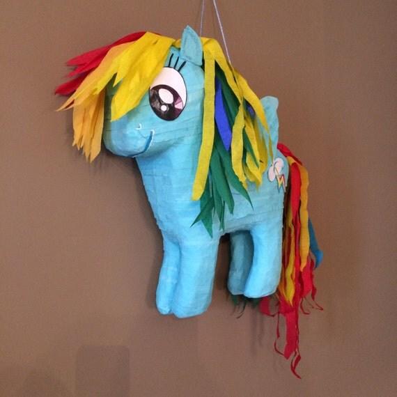 how to make a pony pinata