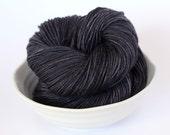 MCN DK Yarn - Tarmac Grey - Hand Dyed - Gray Merino Cashmere