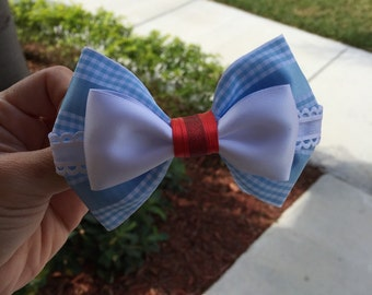 dorothy inspired hairbow