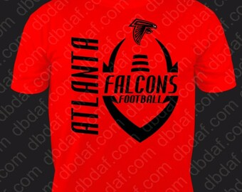 Falcons shirt etsy for Atlanta custom t shirts