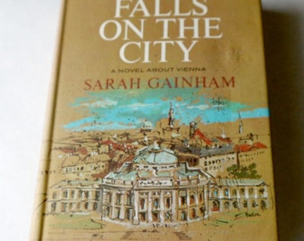 Night Falls On the City plus 4 other hard cover Vintage books