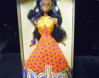 1994 Asha doll Unique Rare African American doll
