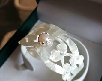 bracelet in mother-of-Pearl pure craftsmanship