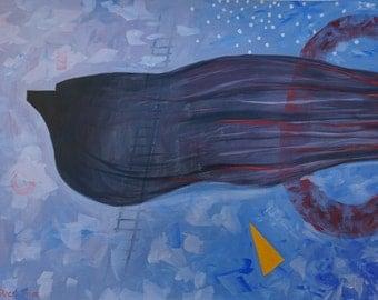 Whale Emerging