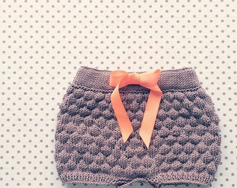 Sailor bubble shorts - Dansk Strikkeopskrift