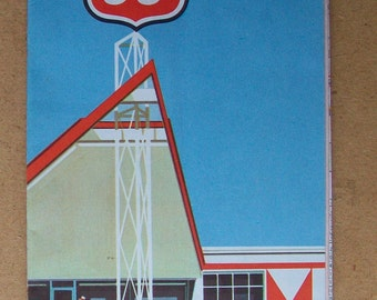 1969 Phillips 66 Missouri Road Map