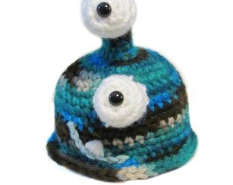 Crochet 2 Eyed Monster Plushie