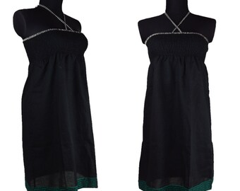 Black Dress smocked