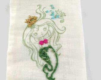 Mermaid Favor Bag - Mermaid Party - Mermaid Decorations - Favor Bags - Mermaid Party - Mermaid Birthday Party - Birthday Decorations - 10