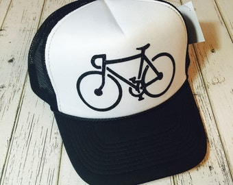 Verify size before ordering!New gender neutral cyclist trucker hat is available in a variety of different colors and sizes