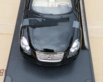 vintage lexus SC 430 convertible car black